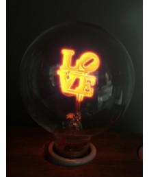 燈膽 - G80  LOVE火焰燈膽 經典款式 全新演繹