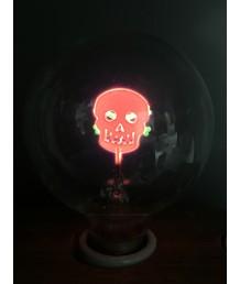 燈膽 - G80  骷髏頭火焰燈膽 經典款式 全新演繹