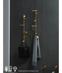 懷舊精品 - 復古銅製掛衣架 經典品味 型人之選