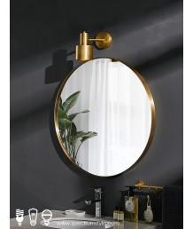 懷舊精品 - 復古銅製圓鏡 懷舊品味 型人之選