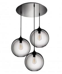 吊燈 - 三頭玻璃球吊燈 經典造型 型格生活