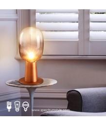檯燈 - 復古玻璃球檯燈 品味家居 型燈之選
