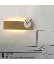 壁燈 - 現代時鐘壁燈 簡約之選 部屋必購