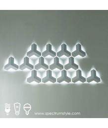 壁燈 -  現代LED壁燈 潮人型燈 自由組合