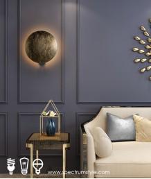 壁燈 - 復古銅月壁燈 別出心裁 懷舊精緻